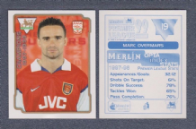Arsenal Marc Overmars Holland 19
